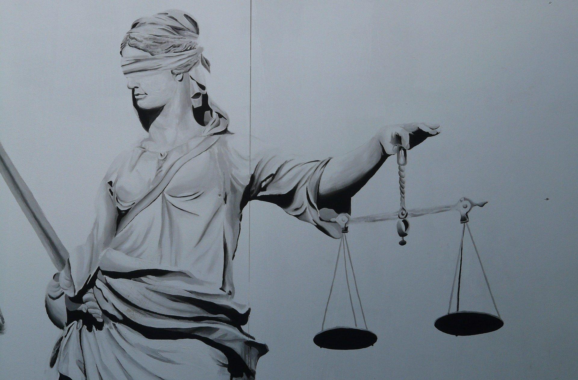 Imagen de justicia ciega para el Servicio jurídico de atención a mujeres especialmente a aquellas que padecen violencia machista