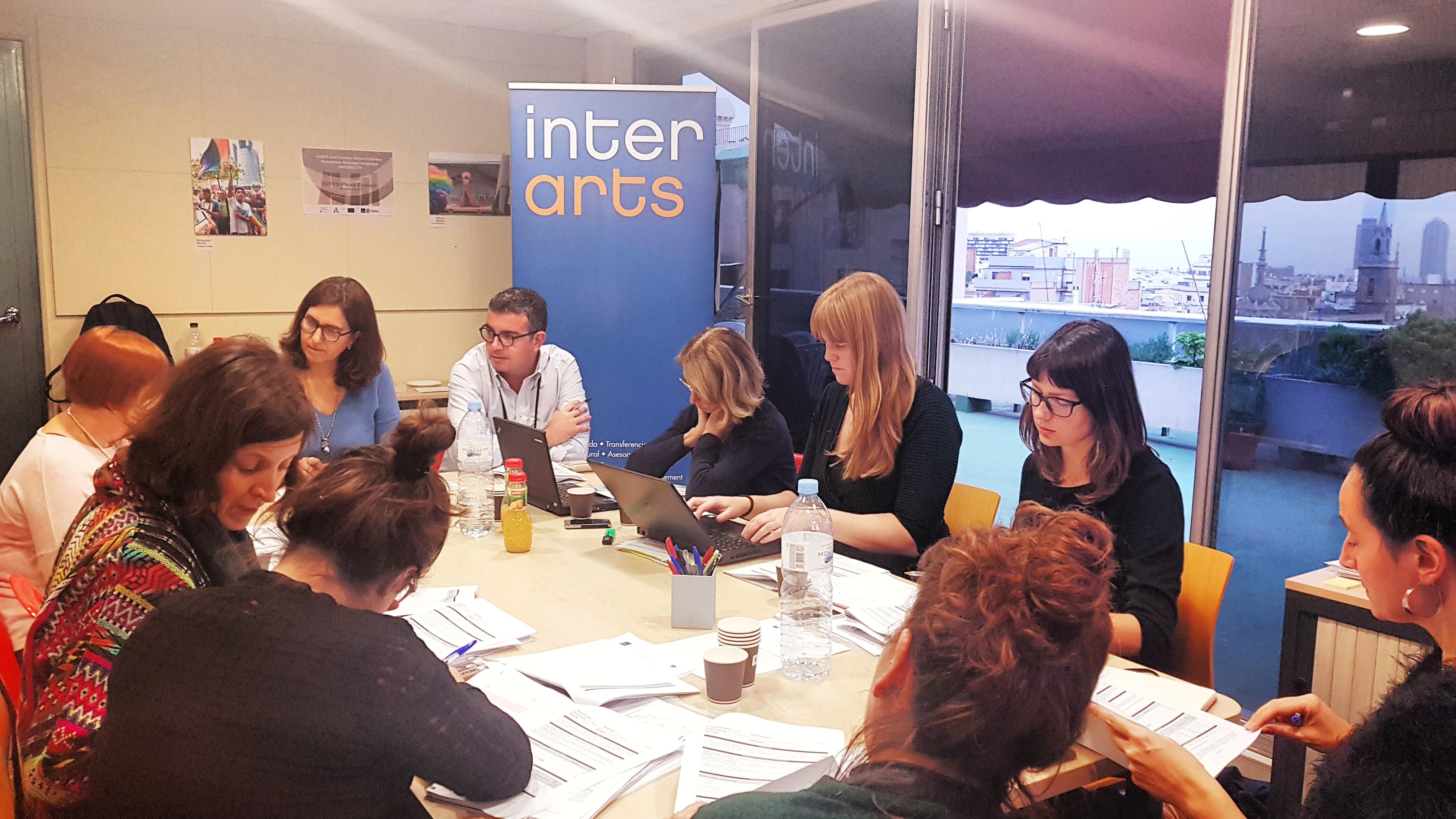 Imagen del encuentro del proyecto Decides Europe en el que participó Asociación Trabe