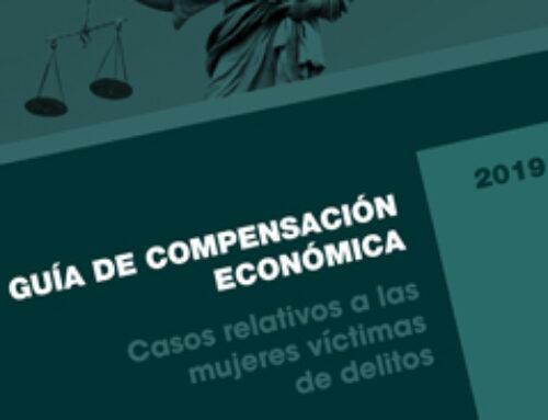 Guía de compensación económica. Casos relativos a las mujeres víctimas de delitos