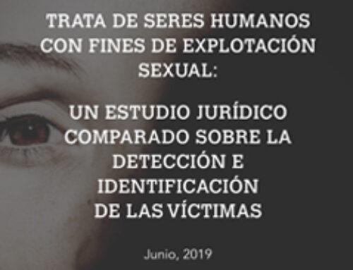 Trata de seres humanos con fines de explotación sexual: Un estudio jurídico comparado sobre la detección e identificación de las víctimas