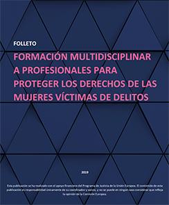 Portada del Manual para profesionales del ámbito legal, sanitario y social que trabajan en la protección y atención a víctimas de trata