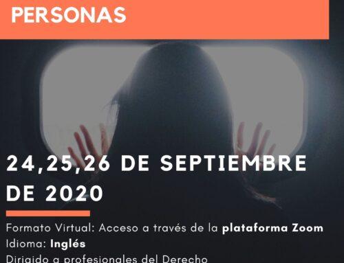 Jornada Internacional: Cooperación Jurídica en Materia de trata de personas